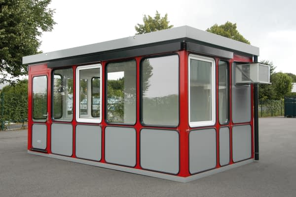 Individual R-room system for the outdoor area